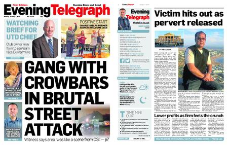 Evening Telegraph First Edition – January 07, 2019