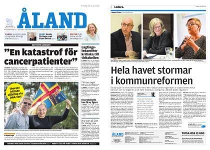Ålandstidningen – 18 maj 2018