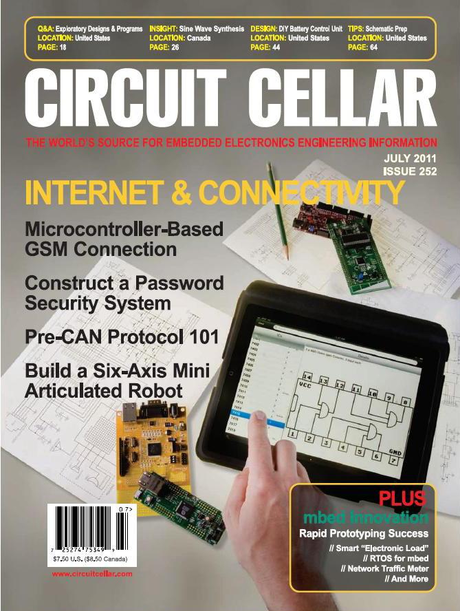 Circuit Cellar No.252 - July 2011
