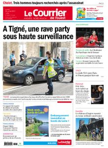 Le Courrier de l'Ouest Angers – 26 juillet 2021