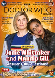 Doctor Who Magazine - Issue 566 - August 2021