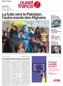 Ouest-France Édition France – 30 août 2021