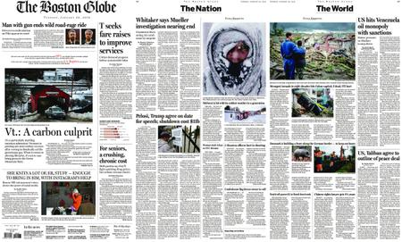 The Boston Globe – January 29, 2019