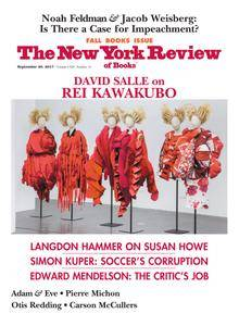 The New York Review of Books - September 28, 2017