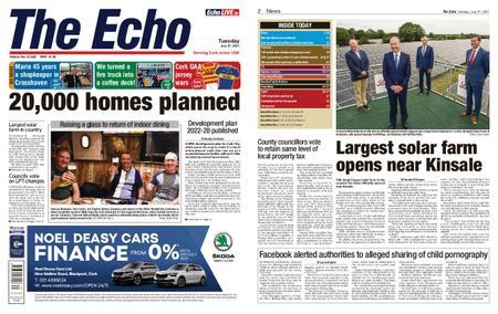 Evening Echo – July 27, 2021