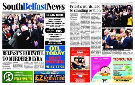 South Belfast News – April 25, 2019