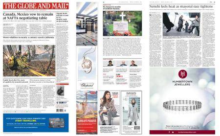 The Globe and Mail – October 13, 2017