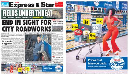 Express and Star City Edition – September 13, 2019