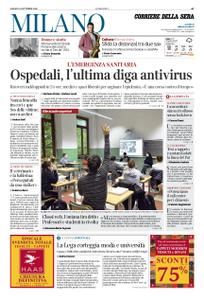 Corriere della Sera Milano – 24 ottobre 2020