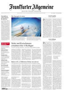 Frankfurter Allgemeine Zeitung - 1 April 2021