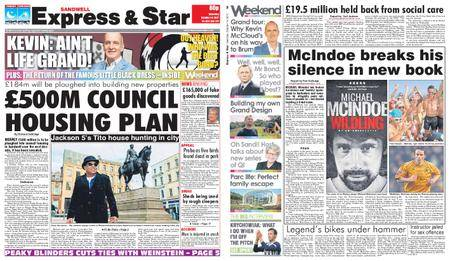 Express and Star Sandwell Edition – October 14, 2017