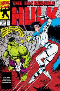Incredible Hulk 386 1991a