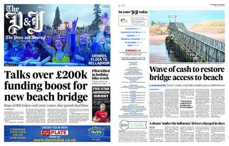 The Press and Journal Moray – August 02, 2019