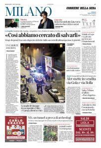 Corriere della Sera Milano - 17 Gennaio 2018