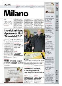 la Repubblica Milano - 28 Dicembre 2017