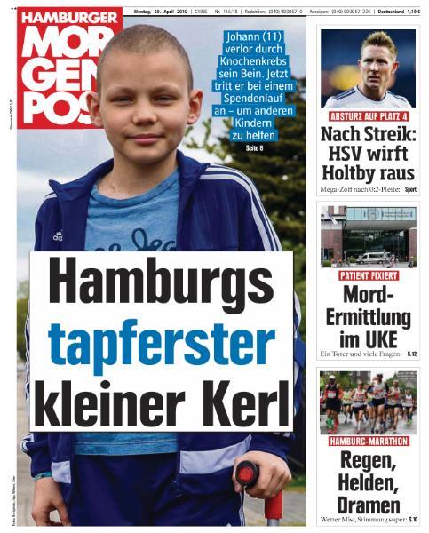 Hamburger Morgenpost - 29 April 2019