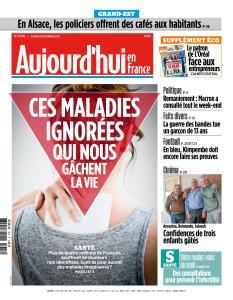Aujourd'hui en France du Lundi 15 Octobre 2018