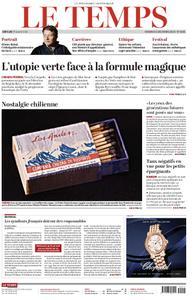 Le Temps - 06 décembre 2019