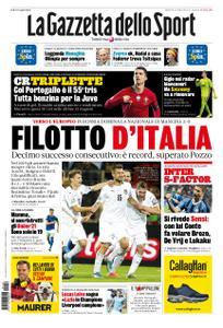 La Gazzetta dello Sport Roma – 16 novembre 2019