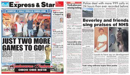 Express and Star City Edition – July 09, 2018