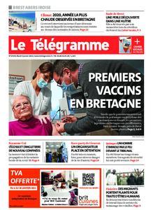 Le Télégramme Brest Abers Iroise – 05 janvier 2021