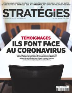 Stratégies - 26 mars 2020