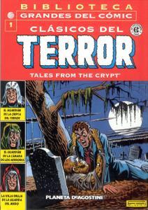 Biblioteca Grandes Del Clásicos del Terror de EC #1-2, #6 (de 15) Tales From The Crypt