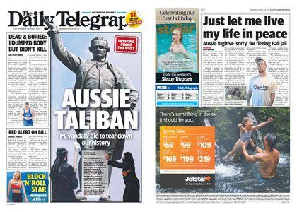 The Daily Telegraph (Sydney) – August 24, 2017