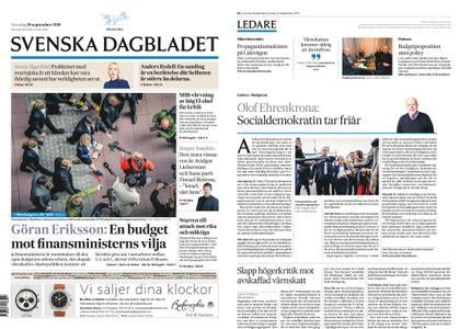 Svenska Dagbladet – 19 september 2019