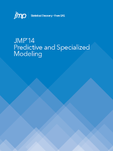JMP 14 : Predictive and Specialized Modeling