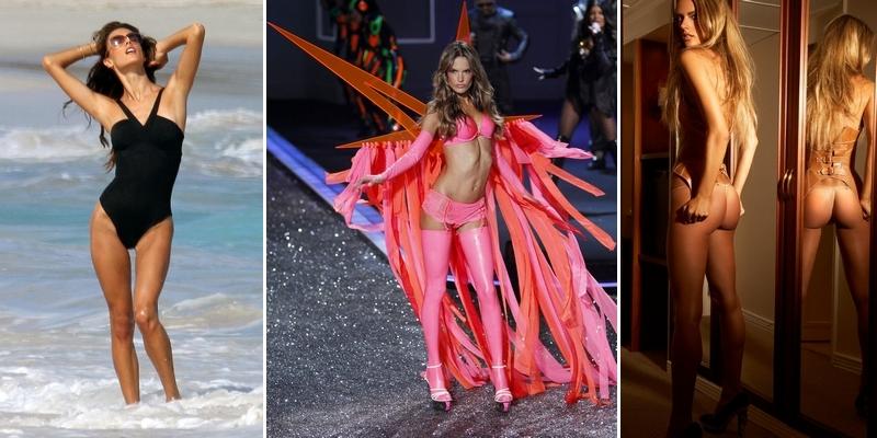 Alessandra Ambrosio – Homem Vogue Magazine and Bikini Photoshoots