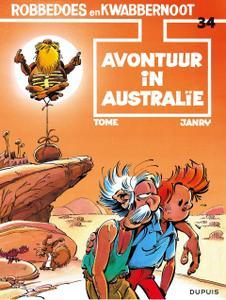 "Strip - ""Robbedoes En Kwabbernoot - 34 - Avontuur In Australie cbr"