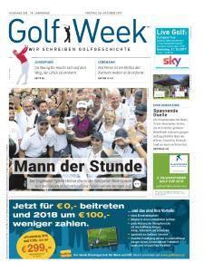 Golf Week - 20 Oktober 2017