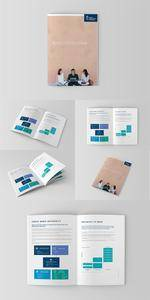 Brochure and Catalog Mockups PSD