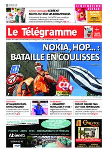 Le Télégramme Brest – 30 septembre 2020