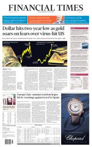 Financial Times Middle East - July 28, 2020