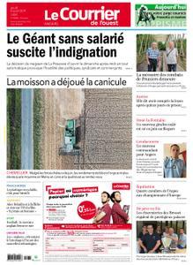 Le Courrier de l'Ouest Angers – 08 août 2019