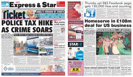 Express and Star City Edition – October 20, 2017