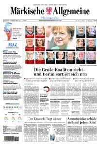 Märkische Allgemeine Fläming Echo - 08. Februar 2018