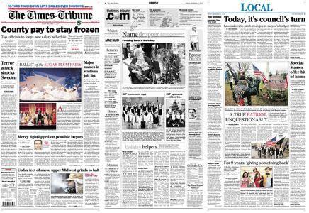 The Times-Tribune – December 13, 2010