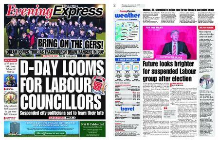 Evening Express – November 21, 2017