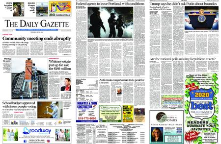 The Daily Gazette – July 30, 2020