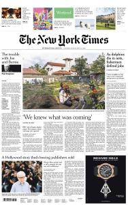 International New York Times - 4-5 May 2019