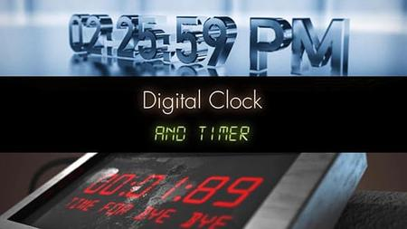 Time Presets v1.5 - Presets for After Effects (VideoHive) 18172948