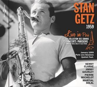 Stan Getz - Live In Paris 1959 (2018) {Frémeaux & Associés FA 5730}