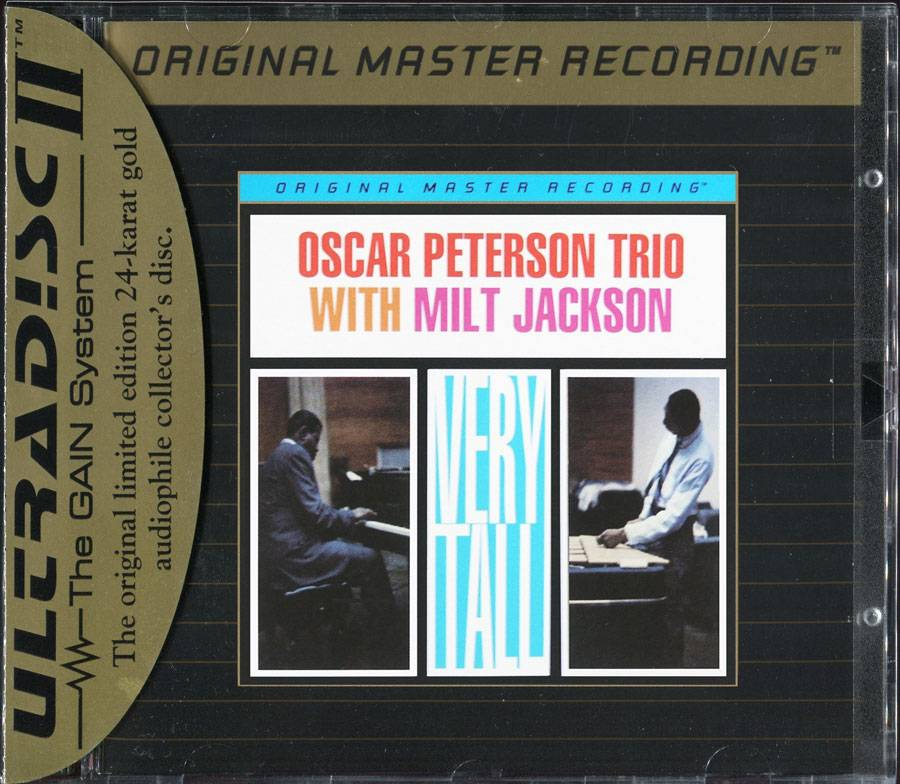 The Oscar Peterson Trio with Milt Jackson - Very Tall (1961)