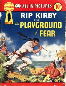 Super-Detective Library 152-Rip Kirby and the Playground of Fear Bogof39