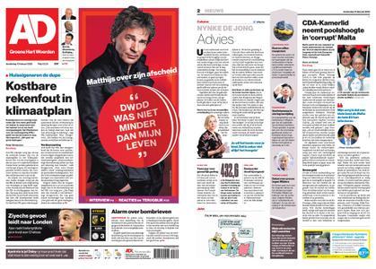 Algemeen Dagblad - Woerden – 13 februari 2020