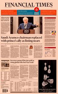 Financial Times Europe – 03 September 2019