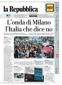 la Repubblica - 3 Marzo 2019